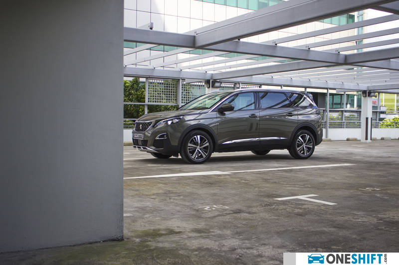Peugeot 5008 1 6 E Thp Allure 7 Seater 2018 Review Singapore