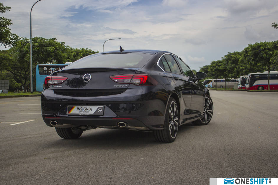 2018 Opel insignia Grand Sport rear