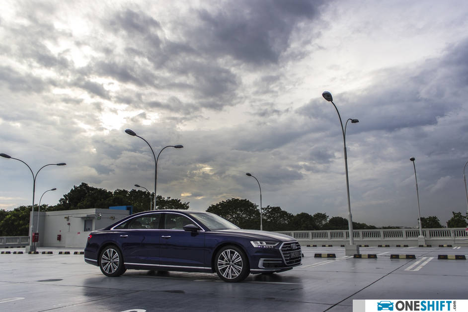 2018 Audi A8 Front Side