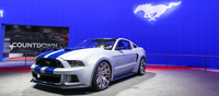 A special one off Ford Mustang GT500 that was built for Need for Speed.