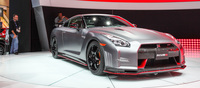 Nissan launched the R35 NISMO fettled variant during the show. This anticipated variant boasts over 600bhp courtesy of a pair of new high flow turbochargers from their GT3 racing experience. The car has also been given a tuned aerodynamics package to improve its performance.