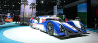On display was also Toyota's 2012 24hr Le Mans contender. The TS030 Hybrid.