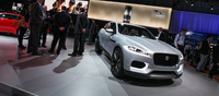 Jaguar detracts from its traditionally sedan models with the CX 17 that muscles in on what used to be Land Rover territory. The SUV features an all-aluminum chassis that is a complete brand new design. We expect to see the new Jaguar on the showroom floor in 2016.