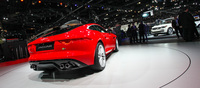 The best angle to appreciate the gorgeous panel lines of the new F-type coupe.