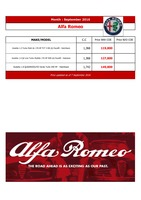 alfa-romeo Price List 9-8-2016 Page 1