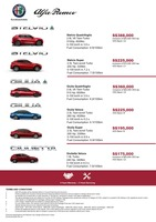 alfa-romeo Price List 5-24-2019 Page 1