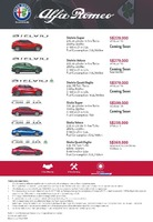 alfa-romeo Price List 4-8-2021 Page 1