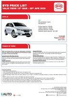 byd Price List 3-19-2020 Page 1