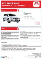 byd Price List 7-13-2020 Page 1