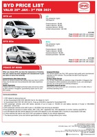 byd Price List 1-20-2021 Page 1