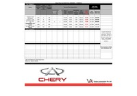 chery Price List 2-4-2016 Page 1