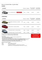 citroen Price List 7-23-2015 Page 1