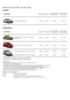 citroen Price List 8-19-2015 Page 1