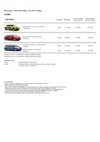 citroen Price List 11-19-2015 Page 1