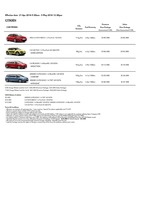citroen Price List 4-21-2016 Page 1