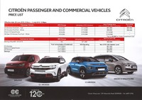 citroen Price List 6-20-2019 Page 1