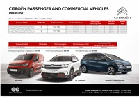 citroen Price List 1-7-2021 Page 1