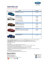 ford Price List 4-16-2015 Page 1