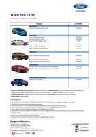 ford Price List 5-21-2015 Page 1