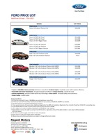 ford Price List 9-25-2015 Page 1