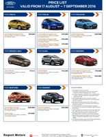 ford Price List 8-18-2016 Page 1