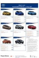 ford Price List 2-25-2017 Page 1