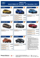 ford Price List 10-23-2017 Page 1  sc 1 st  Oneshift.com & Ford Car Models in Singapore - Oneshift markmcfarlin.com