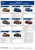 ford Price List 11-23-2017 Page 1