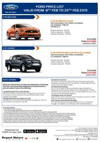 ford Price List 2-11-2019 Page 1