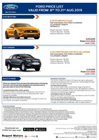 ford Price List 8-10-2019 Page 1
