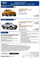 ford Price List 11-21-2019 Page 1
