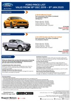 ford Price List 12-19-2019 Page 1