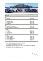jaguar Price List 2-8-2018 Page 1