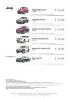 jeep Price List 6-21-2018 Page 1
