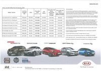 kia Price List 1-26-2015 Page 1