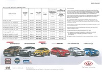 kia Price List 3-23-2015 Page 1