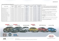 kia Price List 4-28-2015 Page 1