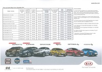 kia Price List 5-22-2015 Page 1
