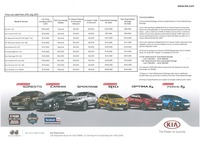 kia Price List 7-27-2015 Page 1