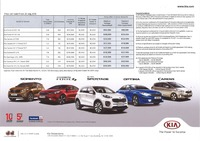 kia Price List 7-22-2016 Page 1