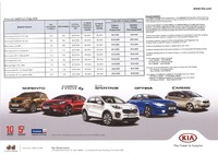 kia Price List 9-9-2016 Page 1