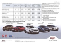kia Price List 10-20-2016 Page 1