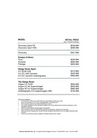 land-rover Price List 4-9-2015 Page 1
