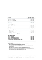 land-rover Price List 5-21-2015 Page 1