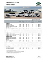 land-rover Price List 9-18-2020 Page 1