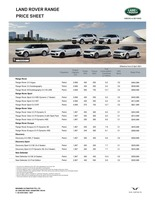 land-rover Price List 4-8-2021 Page 1