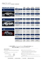 lexus Price List 1-19-2017 Page 1