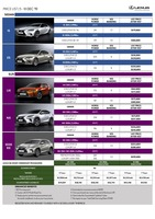 lexus Price List 12-5-2019 Page 1