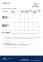 maxus Price List 9-11-2020 Page 1
