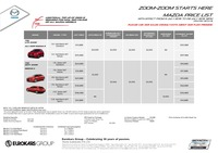mazda Price List 7-6-2015 Page 1
